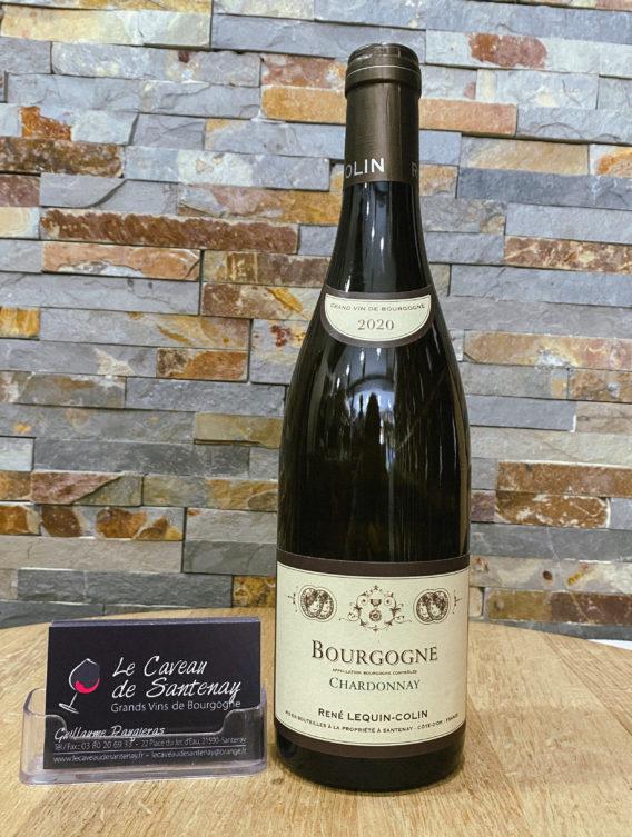 Bourgogne Chardonnay 2020 - Domaine René LEQUIN-COLIN