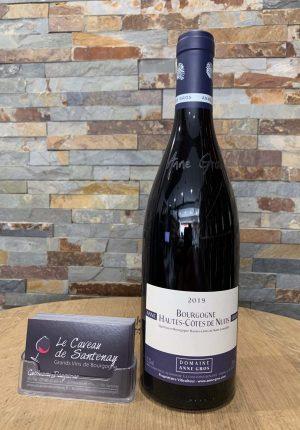 le caveau de santenay Bourgogne Hautes-Côtes de Nuits rouge du domaine Anne GROS